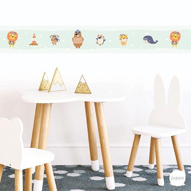Odamdaki Korsanlar Sticker Duvar Bordürü