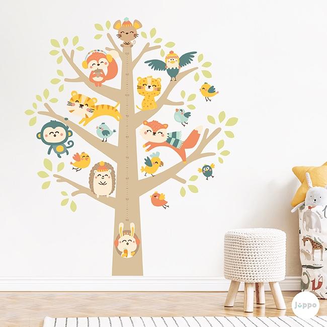 Hayat Ağacı Sticker Boy Cetveli