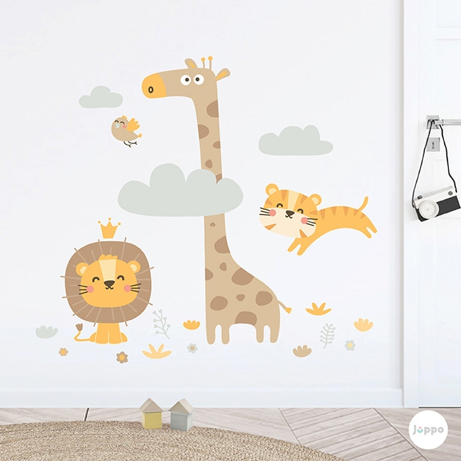 Minik Safari Duvar Sticker