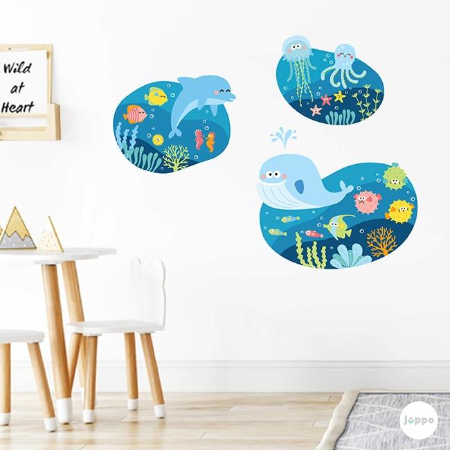 Deniz Altı Büyük Pano Duvar Sticker