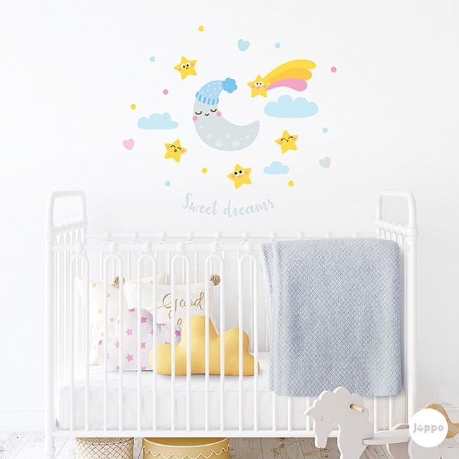 Tatlı Rüyalar Duvar Sticker