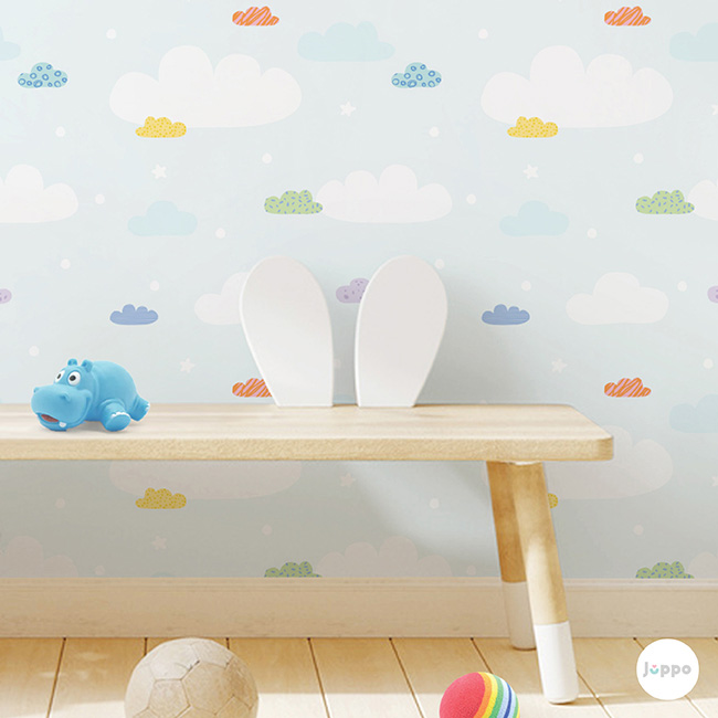 Mutlu Bulutlar Duvar Kağıdı