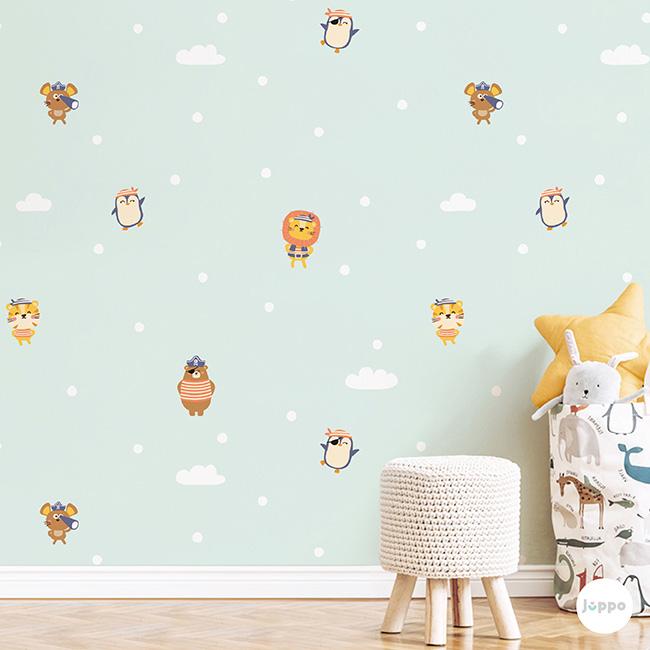 Odamdaki Korsanlar Duvar Kağıdı